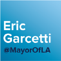 Eric Garcetti @MayorOfLA