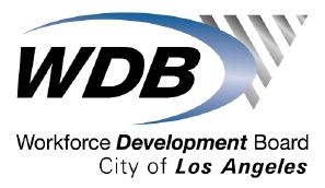 Workforce Development Board City of Los Angeles